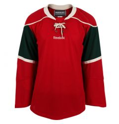 Minnesota Wild Reebok Edge Uncrested Adult Hockey Jersey