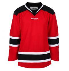 New Jersey Devils Reebok Edge Uncrested Adult Hockey Jersey