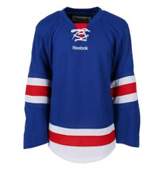 New York Rangers Reebok Edge Uncrested Adult Hockey Jersey