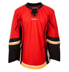 Calgary Flames Reebok Edge Uncrested Junior Hockey Jersey