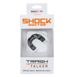 Shock Doctor Trash Talker Adult Mouthguard - Black