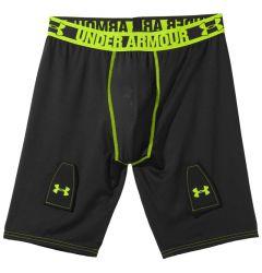 Under Armour Grippy Senior Compression Shorts w/Cup