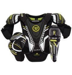 Warrior Alpha DX3 Junior Hockey Equipment Bundle