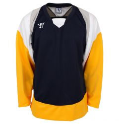 Warrior Lightning KH300 Senior Hockey Jersey - Navy/Gold/Gray