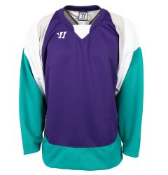 Warrior Lightning KH300 Senior Hockey Jersey - Purple/Teal/White