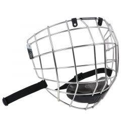Warrior Krown LTE Silver Hockey Facemask