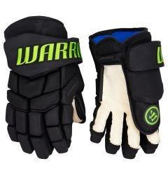 Warrior Covert QRE 10 SE Dallas Stars Blackout Senior Hockey Gloves