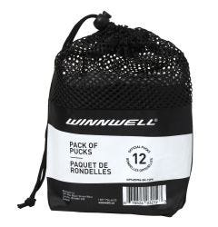 Winnwell Official Ice Hockey Puck - 12 Pack