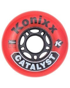 Konixx Catalyst Roller Hockey Wheel - Red