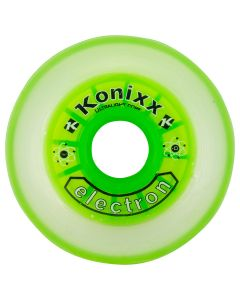 Konixx Electron Roller Hockey Wheel - Clear/Green