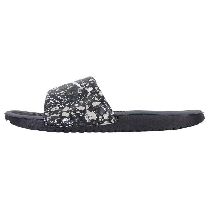 Nike Kawa Boy's Slide Sandals - Black