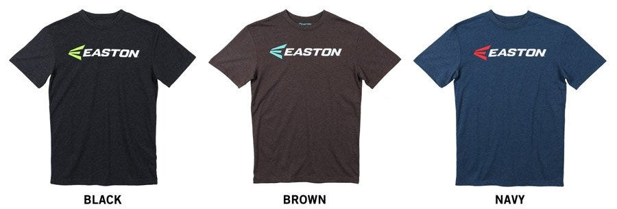 Easton Triblend II Adult Short Sleeve Tee Shirt