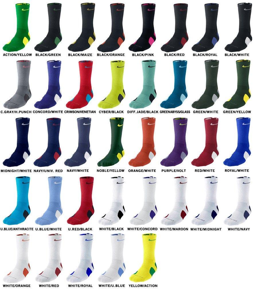 Nike Dri-Fit Elite Crew Socks 43a444916b6e