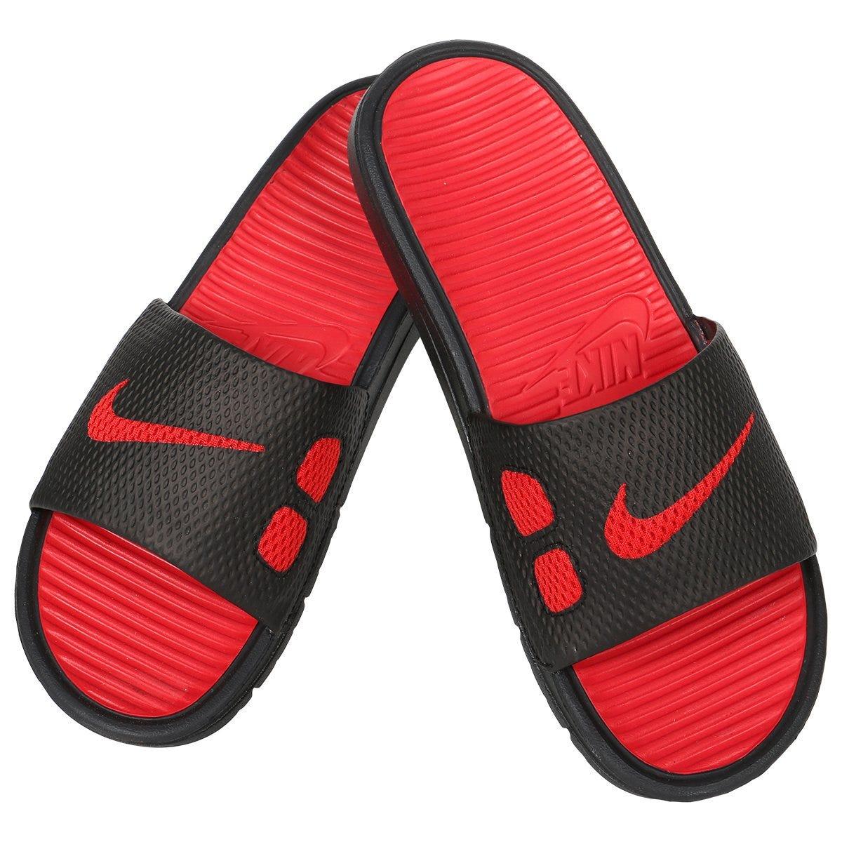 75956a018 SKU-MS1246343 Nike Benassi Slide Men s Sandals - Black Red from Goalie Monkey  sku