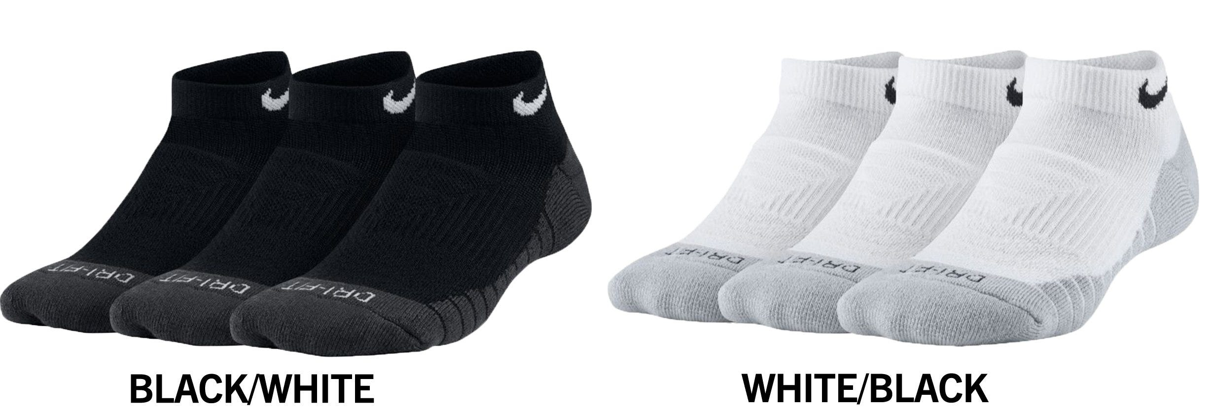 newest 50ad5 2a058 Nike Dry Cushion Youth No-Show Socks - 3 Pack
