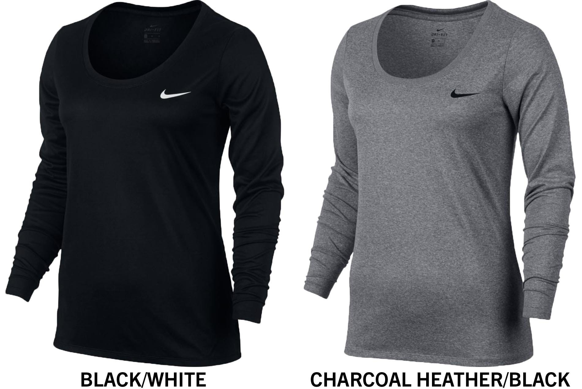 52496c8cb93 Nike Dri-FIT Legend Women s Long Sleeve Training T-Shirt