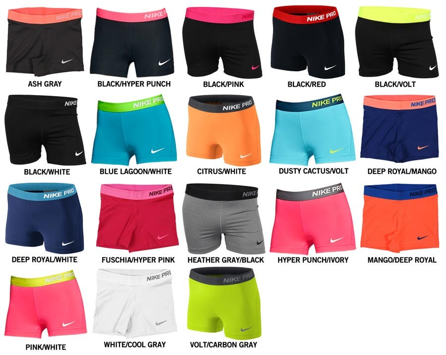 reputable site 40090 f6e49 Nike Girls Nike Pro Short. Product Questions