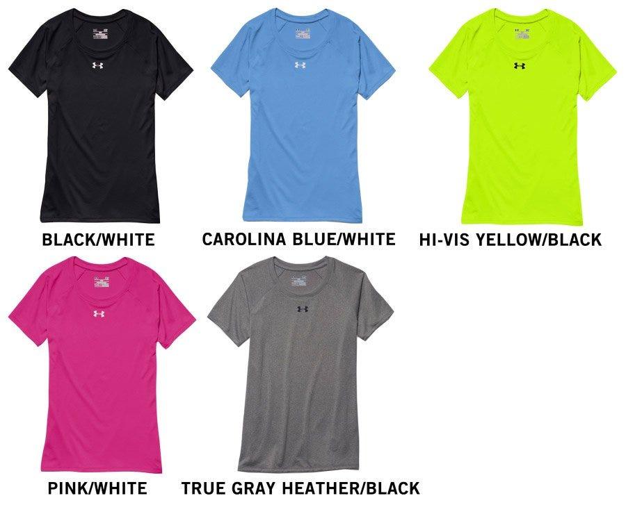 5d3578bbee4194 Under Armour Locker T Women's Short Sleeve Tee Shirt