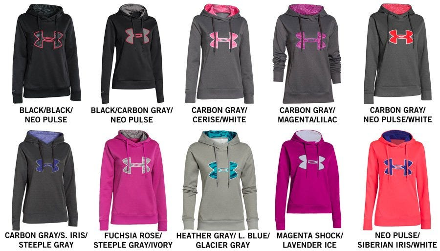 42ffa546996 ... Under Armour Applique Women s Pullover Hoody ...