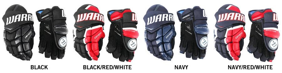 0cbe271b446 Warrior Covert QRL Junior Hockey Gloves