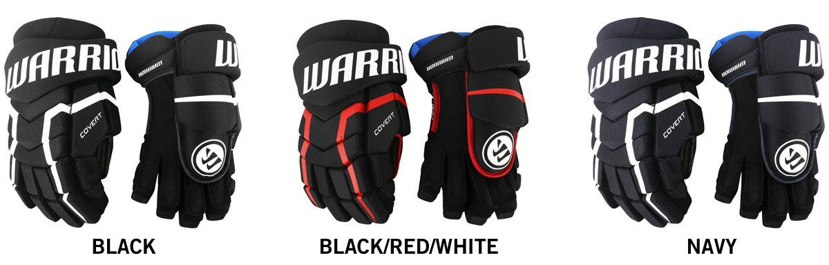a6376824def Warrior Covert QRL5 Senior Hockey Gloves