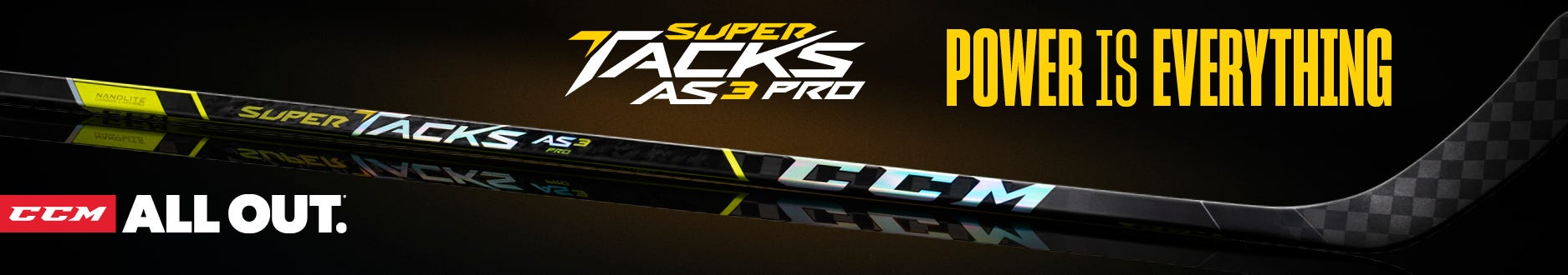 CCM Super Tacks AS3 Pro Sticks: Power Is Everything