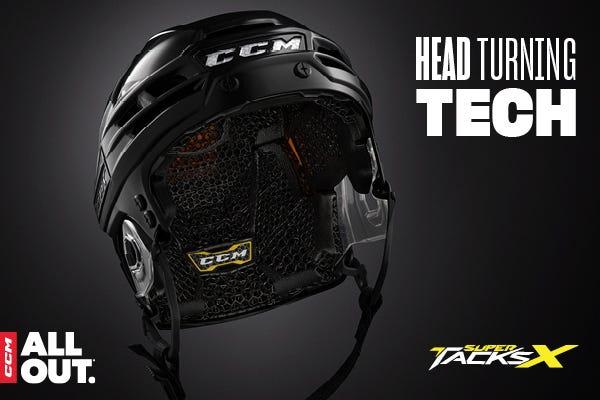 CCM Super Tacks X Helmet