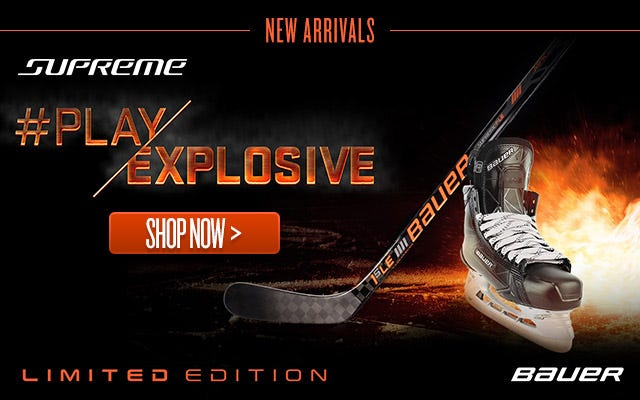 Bauer Supreme Limited Edition Skates & Sticks