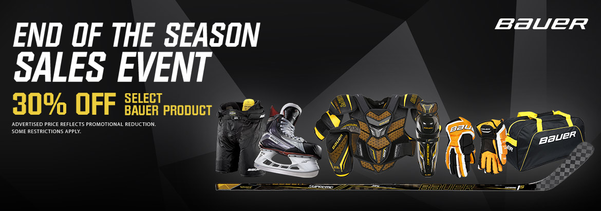 Bauer End of Season Sale