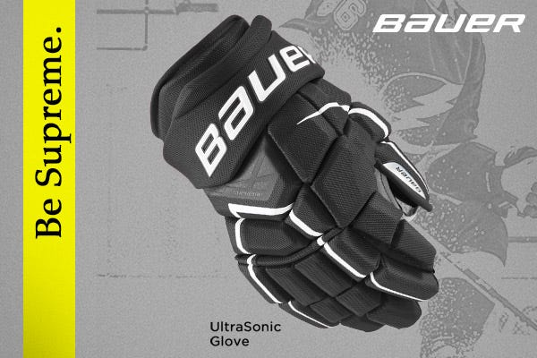 Bauer Supreme Ultrasonic Hockey Gloves