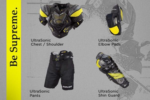 Bauer Supreme Ultrasonic Protective