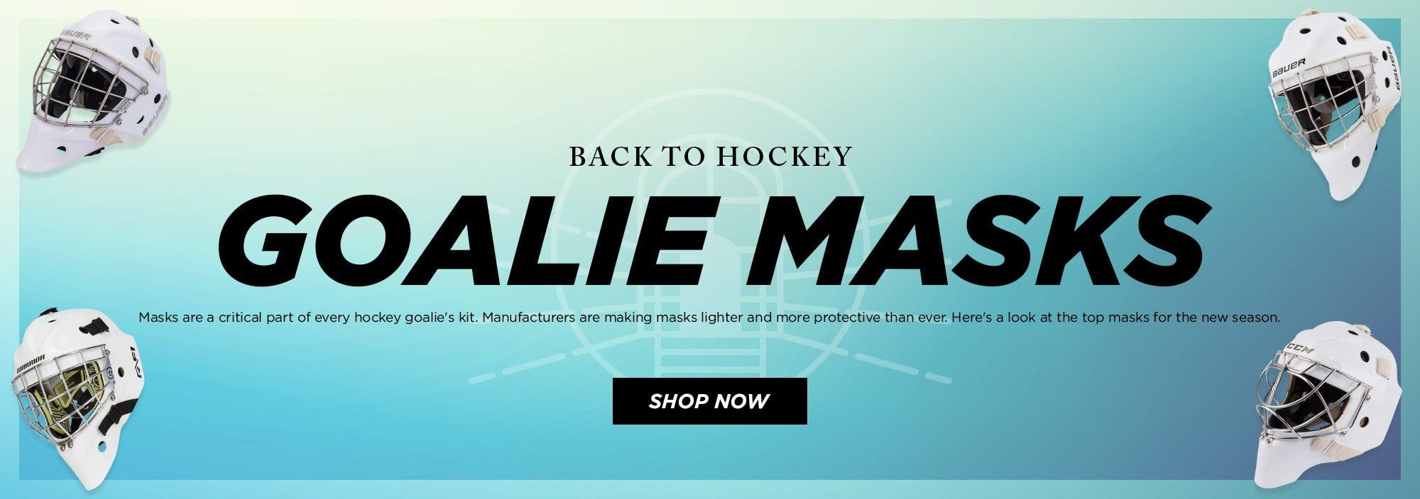 Back to Hockey: Masks
