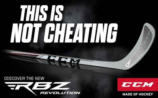 CCM RBZ Revolution Hockey Sticks