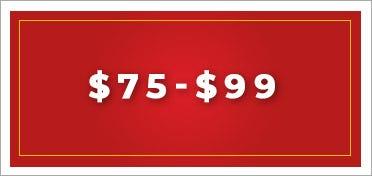 $75 - $99