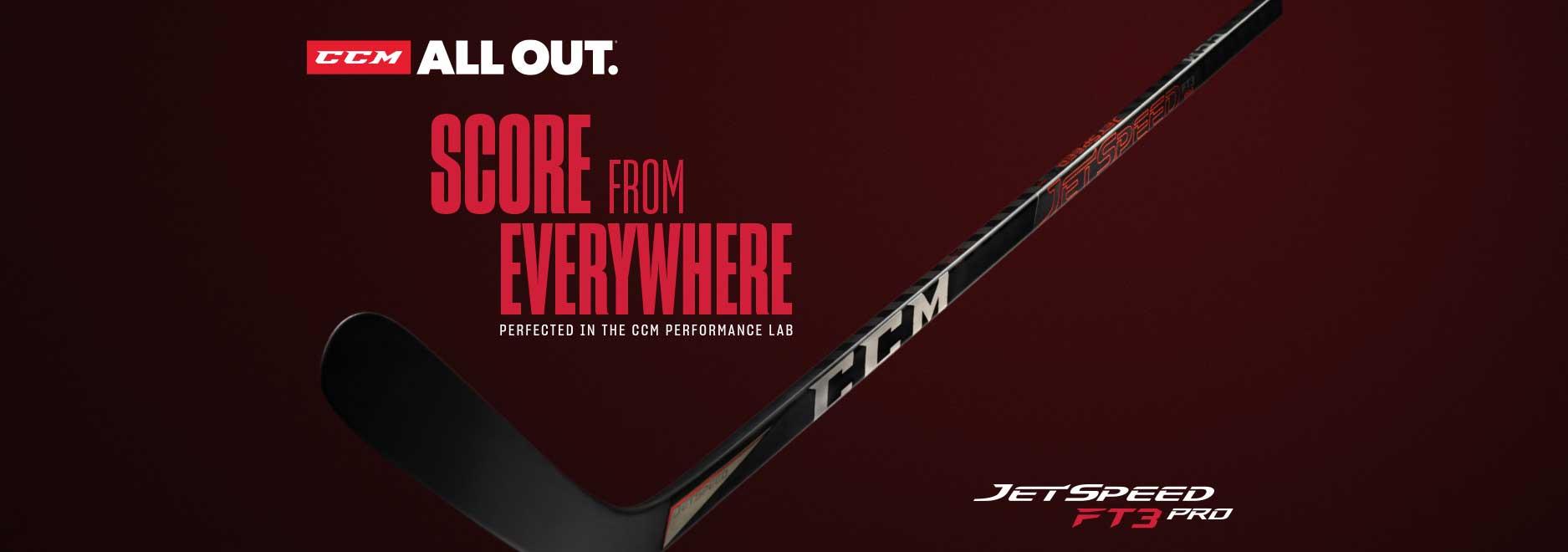 CCM JetSpeed FT3 Pro Hockey Sticks