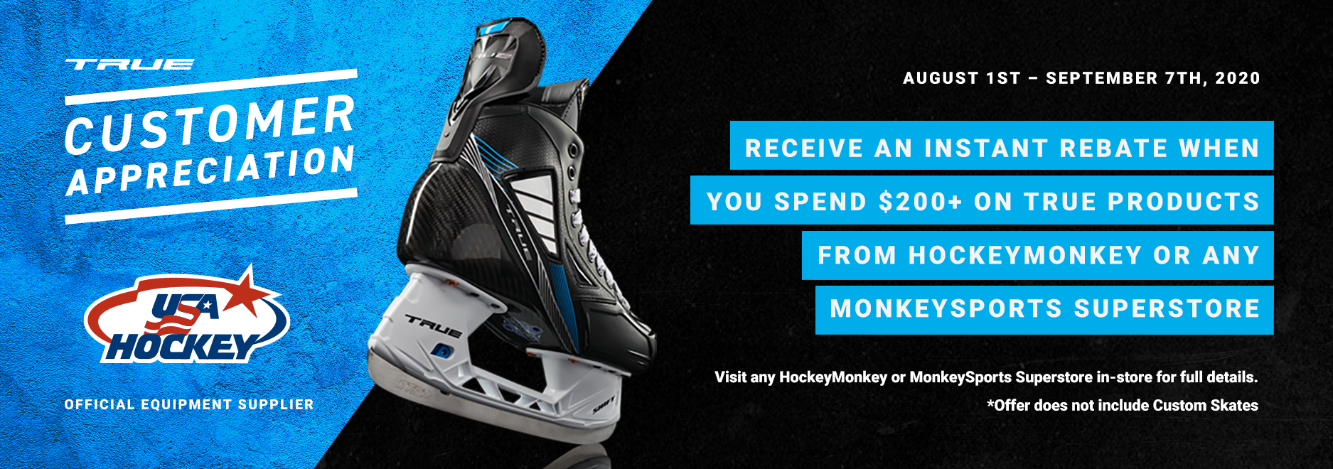2020 True Hockey Customer Appreciation Savings