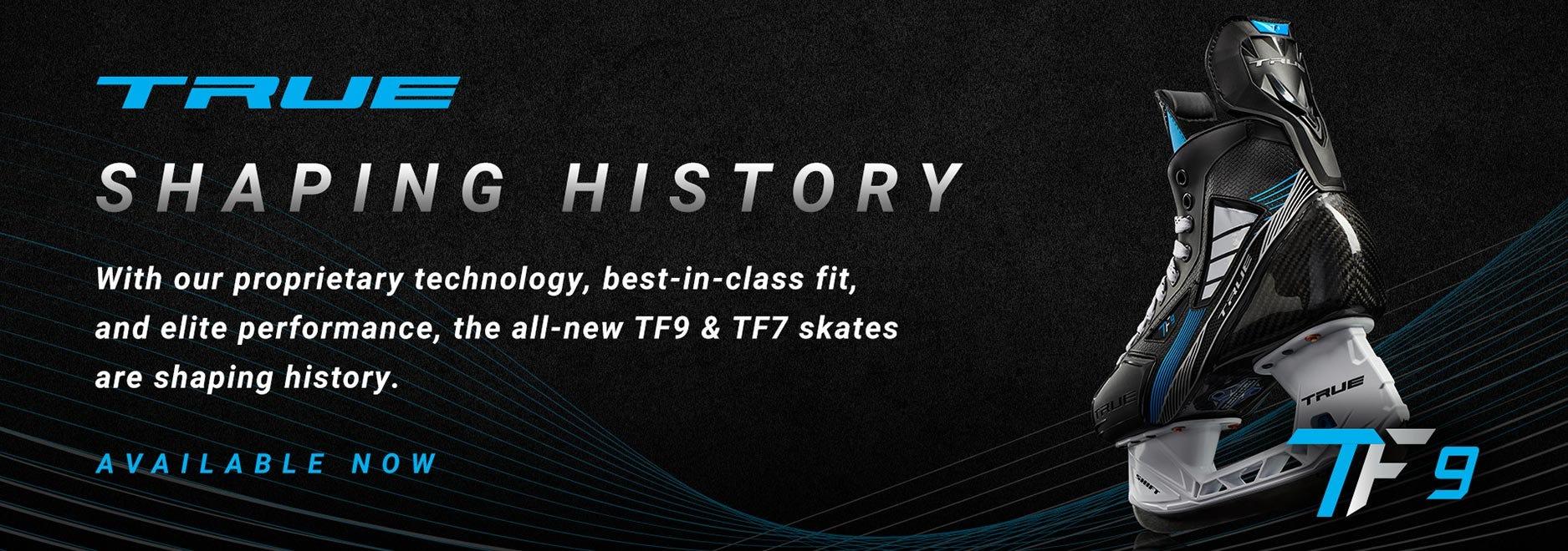 True TF9 & TF7 Ice Hockey Skates