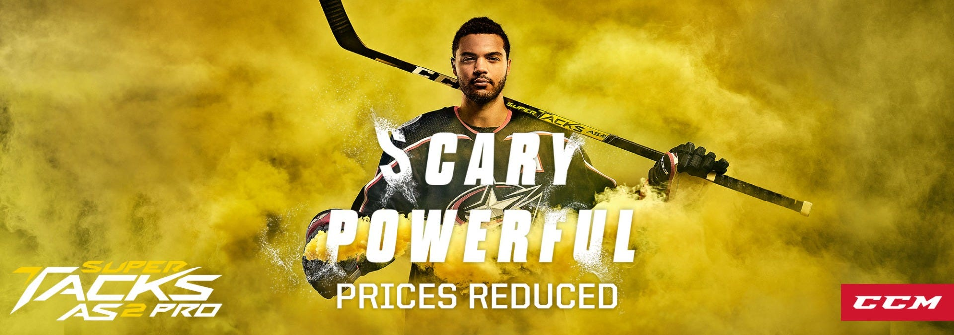 Prices Reduced on CCM Super Tacks Hockey Sticks