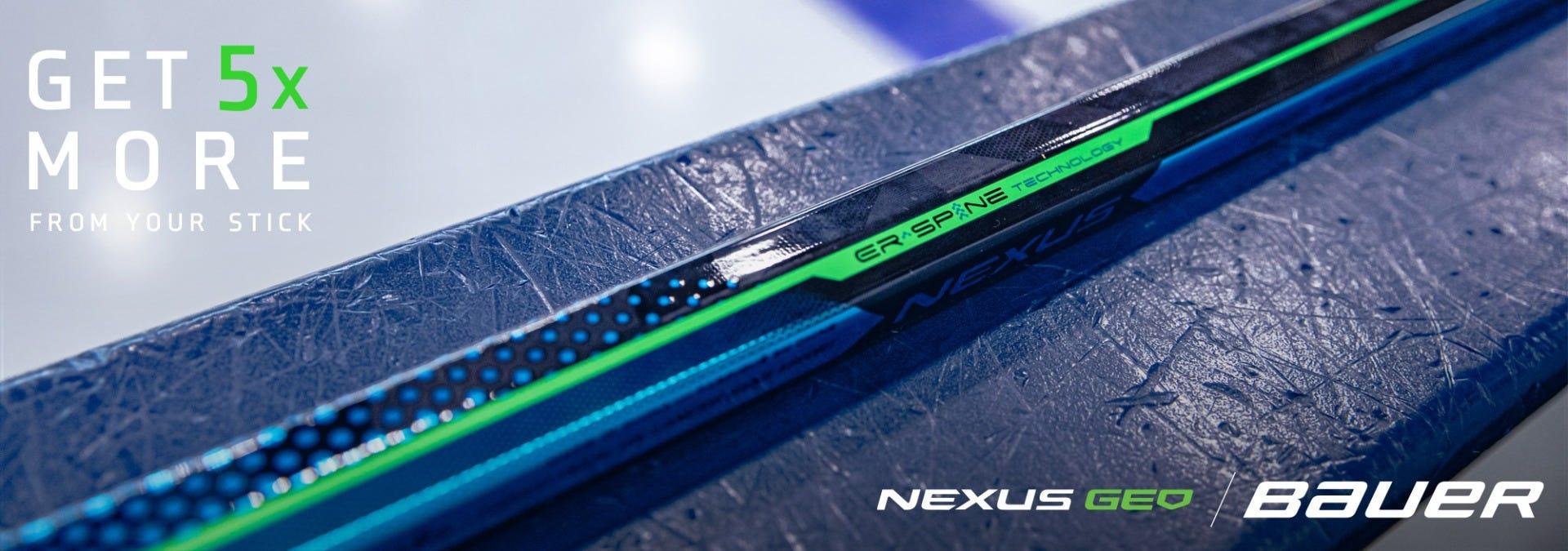 Bauer Nexus Geo: Get 5x more from your stick