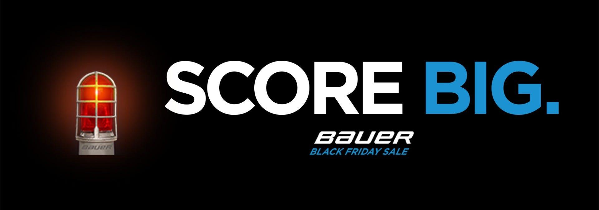 Save 30% or more on Bauer Supreme skates, Nexus sticks, Supreme sticks, and Vapor protective during Bauer's Black Friday Sale!