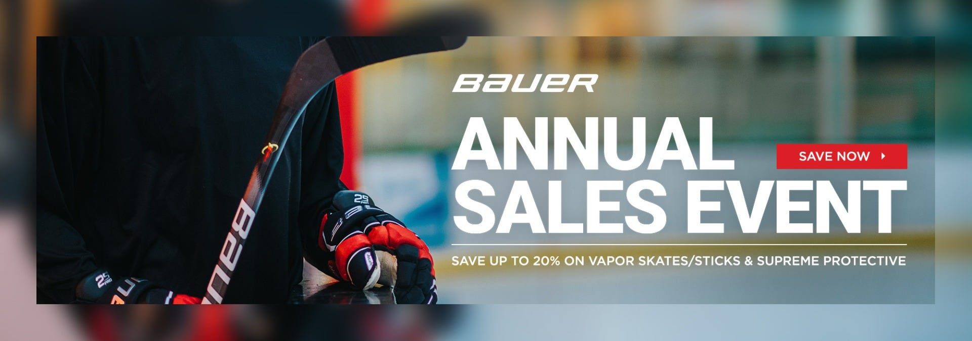 Bauer Annual Sales Event