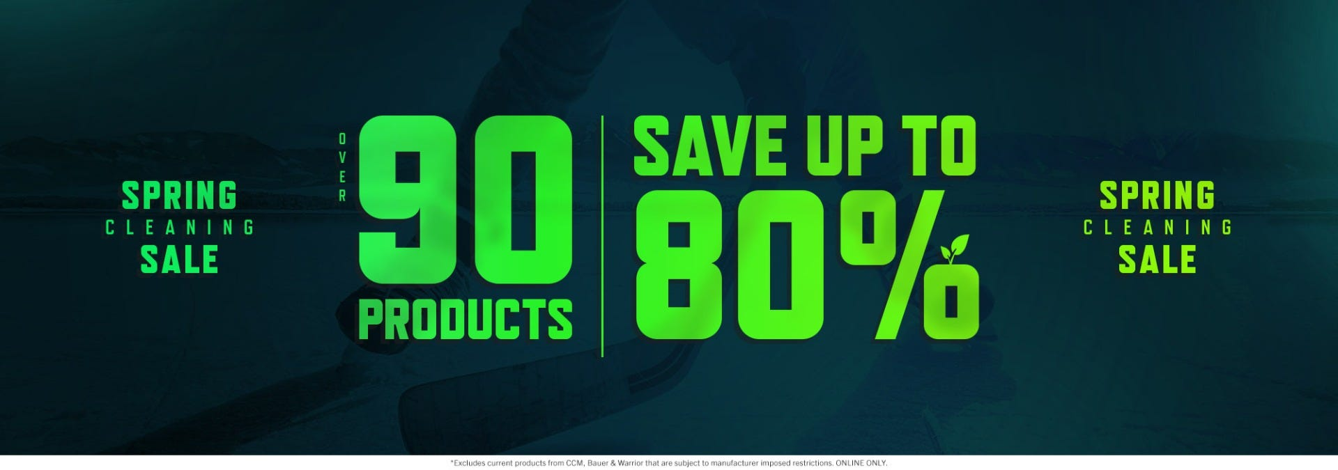 Spring Cleaning Sale: Save up to 80% on over 90 items
