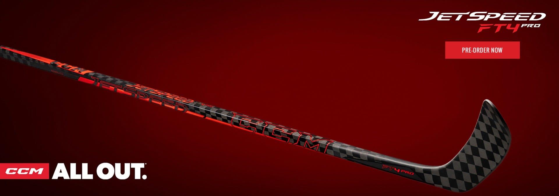 CCM JetSpeed FT4 Pro Hockey Sticks