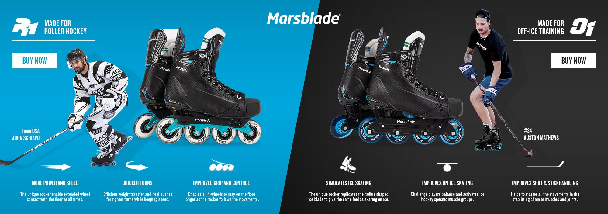Marsblade: Make Yourself a Better Hockey Player