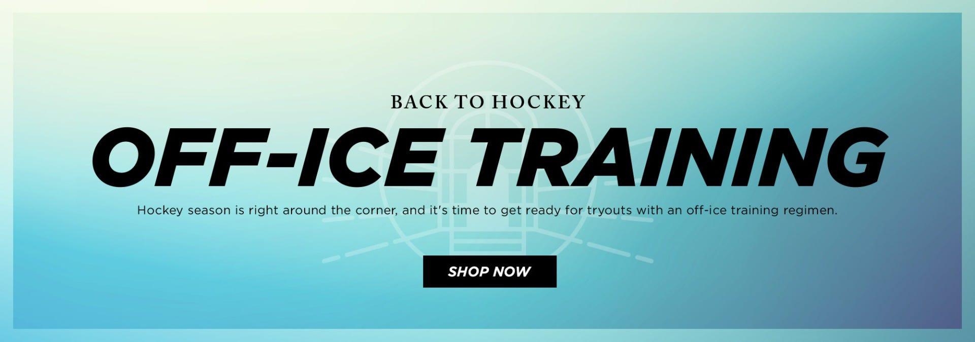 Back to Hockey: Off-Ice Training