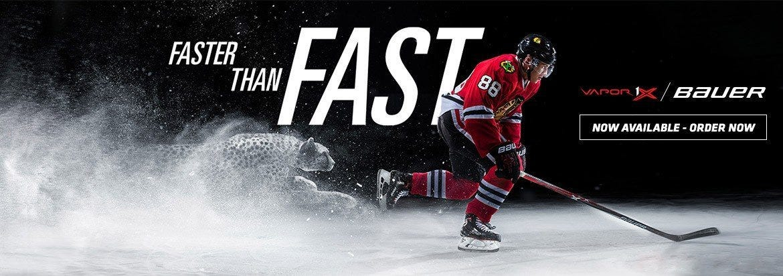 New Bauer Vapor Hockey Skates