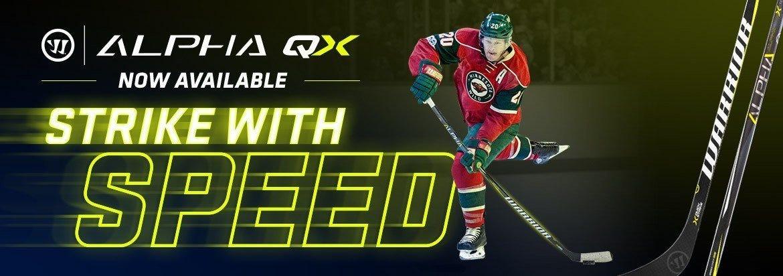 Warrior Alpha QX Hockey Sticks