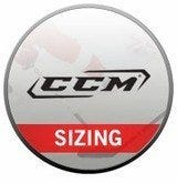 CCM Elbow Pad Sizing Chart