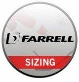 Farrell Shoulder Pad Sizing Chart