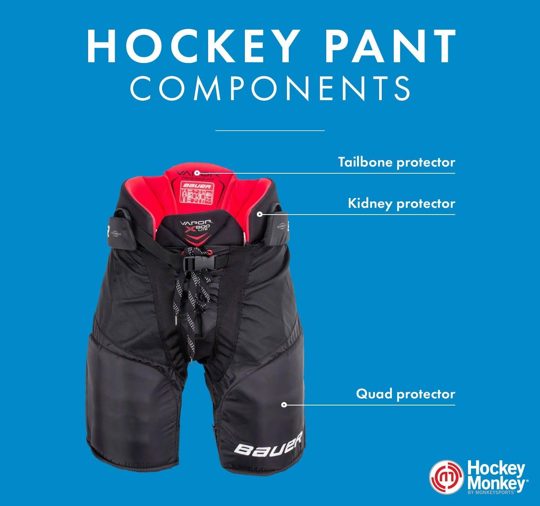 hockey pant components